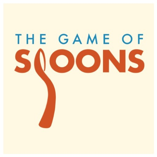 Banner reading 'The Game of Spoons', where the 'S' is in the shape of a spoon