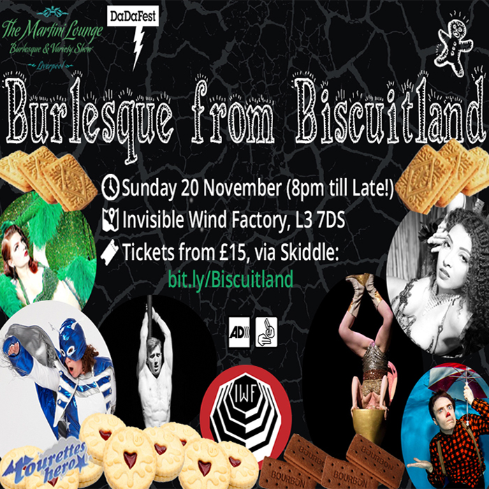 Burlesque from Biscuitland presented by Martini Lounge